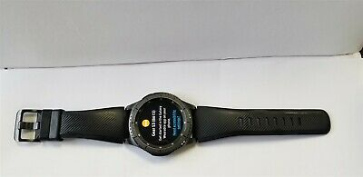 Samsung Galaxy Gear S3 Frontier 46mm Stainless Gray Case WIFI Smartwatch GD2540