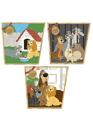 Disney Lady And The Tramp 65th Anniversary Pin Set! Confirmed