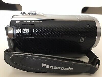 Panasonic HC-V520 HD Digital Camcorder with 80x Zoom and Wi-fi
