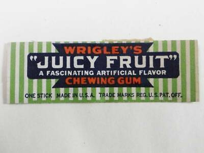Wrigley's Juicy Fruit Chewing Gum Wrapper Book-5