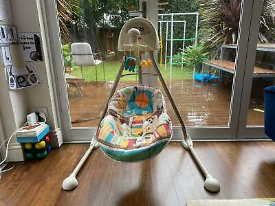 Fisher-Price motorised baby cradle and swing - great condition