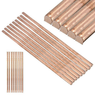 1x 99.9% Pure Copper Cu Metal Rod Tube Cylinder Diameter 6mm Length 200mm