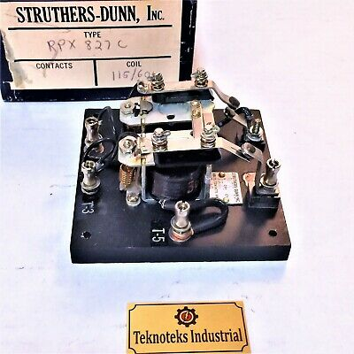 Struthers Dunn Rpx827C / 115Vac Coil Relay Assy