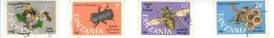 Tanzania Stamps Insects sg522/6 used