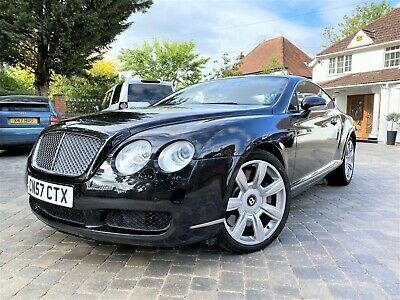 Bentley Continental Gt 6.0 W12 Coupe...2007...57 Reg ...Black With Black