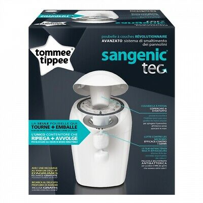 Sangenic Tec Poubelle Bac A Couches Tommee Tippee