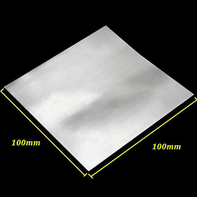 High Purity Pure Zinc Zn Sheet Plate Metal Foil 100x100x0.5mm For Science