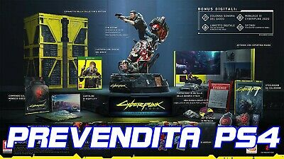 Cyberpunk 2077 Collector's Edition limited PS4 Italiana