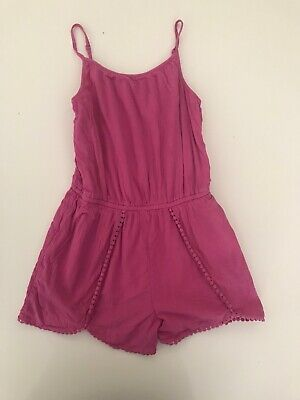 Girls M&S Playsuit Age 9-10