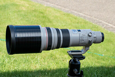 Canon EF 500mm F/4.0 EF IS L USM Lens in excellent condition