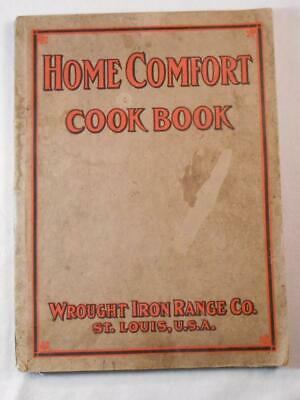 Original 1916 Home Comfort Cook Book Wrought Iron Range Co St Louis with Stoves