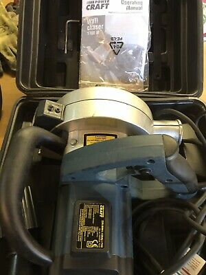 Power Craft 1700 Wall Chaser 230V & 2 x diamond segment blade And Laser Line
