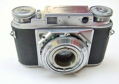 VOIGTLANDER PROMINENT 35mm RANGEFINDER BODY TYPE 2 WITH STRAP LUGS + CASE