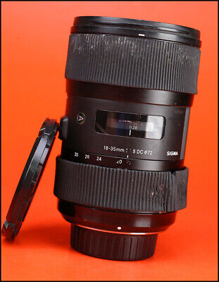 Sigma 18-35mm F1.8 DC ART Lens - Nikon Fit - Sold with Front & Rear Lens Caps