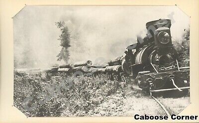 Gualala River Railway Probably #2 or #3 Grahame H Hardy B&W Photo (2540)