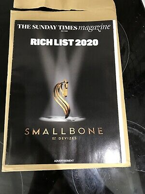 The Sunday Times  Magazine  17  May  2020    Uk Rich List 2020