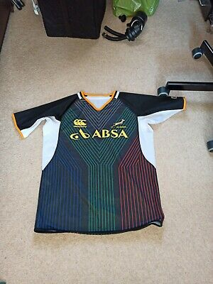 South Africa Rugby Training / Third Jersey Large