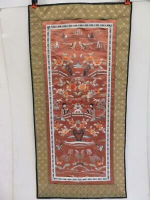 really old needle work embroidery oriental