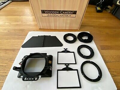 Wooden Camera UMB-1 Universal Matte Box (Base) #201800 with adapter rings