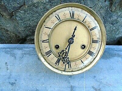 Antique Vienna Style Wall Clock Movement And Clock Face Plus Fitting Bracket
