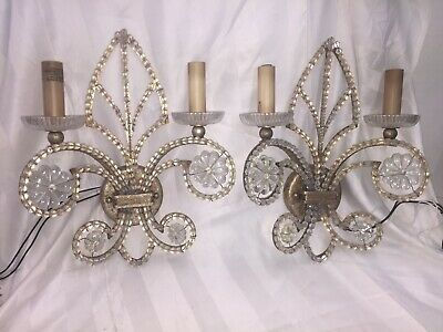 Hollywood Regency Style Wall Sconces Fine Art Lamps