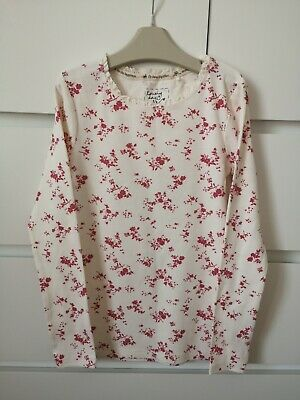 NEXT___floral long sleeve top girl age 8 yrs VGC