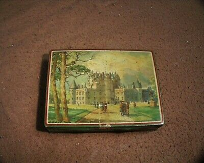 Antique Biscuit Tin Gray And Dunn Product Of Scotland Est 1853