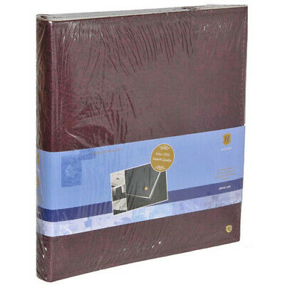 Henzo Burgundy Faux leather 400 sheets 300 mm 365 mm 6 cm Photo Album 11.092.09