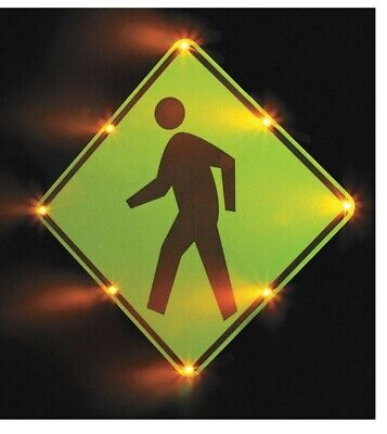 TAPCO LED Sign, Pedestrian Crossing Pictogram