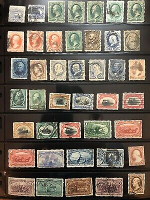 Small Lot Of Early US Stamp , Used