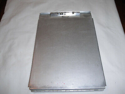 Aluminum Clipboard with inside compartment