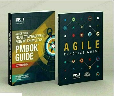 PMBOK PMI Guide 6th Edition 2018 + Agile Practice Guide +1440 PMP... ⚡P*D*F🔥