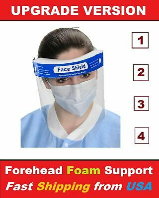 Full Cover Safety Full Face Shield, Best Kind in The US Market
