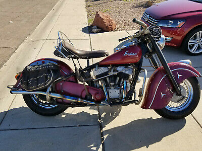 1950 Indian Chief  1950 Indian Chief Original Paint restored Power-Plant