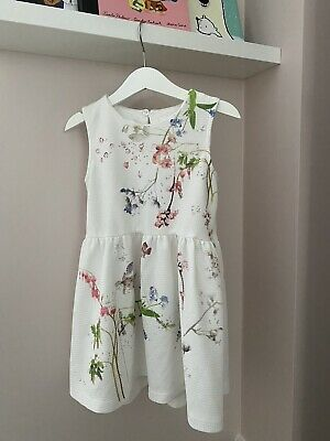 NEXT Girls Floral Summer Dress Age 4-5 Years **immaculate**