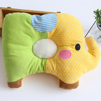 Toddler Cradle Elephant Pillow Anti-rollover Cotton Pillow Baby Care Baby Pillow