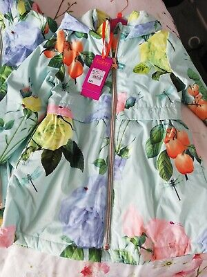 Beautiful Girls Ted Baker Shower Resistant Jacket 4 - 5 years BNWT