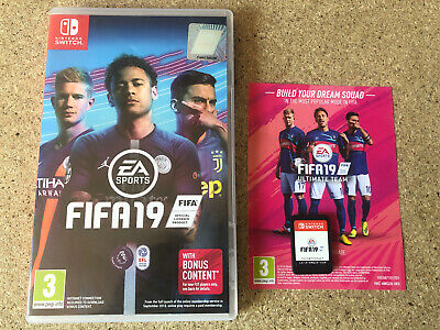 Nintendo Switch FIFA 19 Game