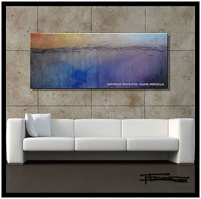Abstract Painting Canvas Wall Art Large Framed Listed by Artist USA ELOISExxx