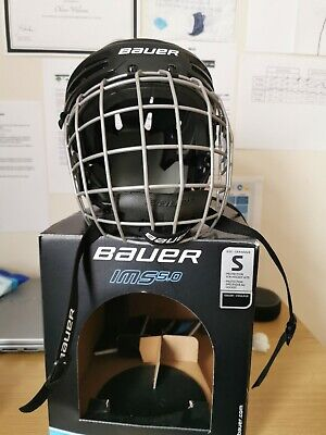 Bauer Ice Hockey Helmet And Cage IMS5.0 Size SMALL