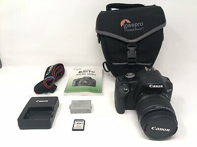 Canon EOS Rebel T1i DSLR Body And 18-55mm Lens