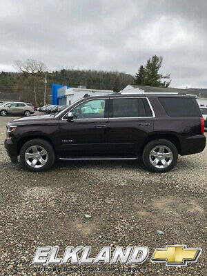 2020 Chevrolet Tahoe Premier 4X4 6.2L V8 2020 Tahoe Premier Used 6.2L Value Package Cherry Red Leather