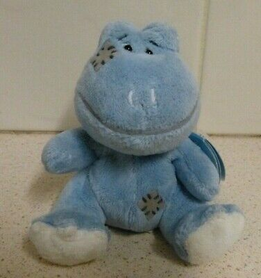 """Tatty Teddy & My Blue Nose Friends """"Lily"""" Plush /Beanie Toy Frog - Carte Blanche"""