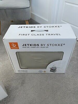 Jet Kids Bed Box Red By Stokke. Jetkids Bedbox. Child's Wheelie Suitcase.
