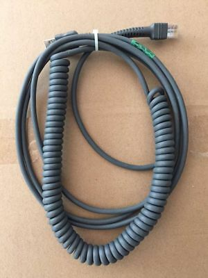 USB Cable Coiled for Symbol Barcode Scanner LS1203 LS2208 LS3578 DS6708