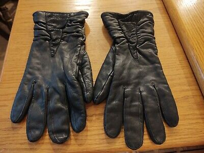 Wilson's Leather Women Black Thinsulate Gloves Size Large