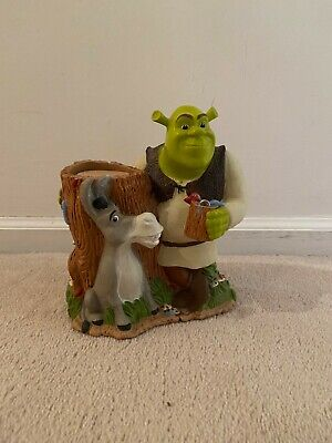 Shrek 2 & Donkey Collectible DIXIE CUP Holder Dispenser 2004 DREAMWORKS Bathroom