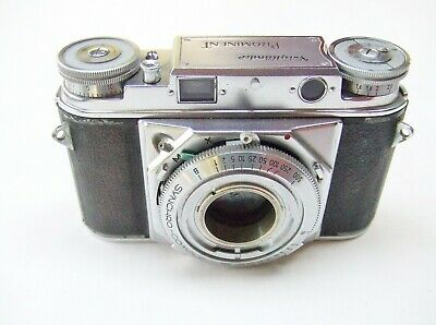 VOIGTLANDER PROMINENT 35mm RANGEFINDER BODY TYPE 2 WITH LUGS + CASE