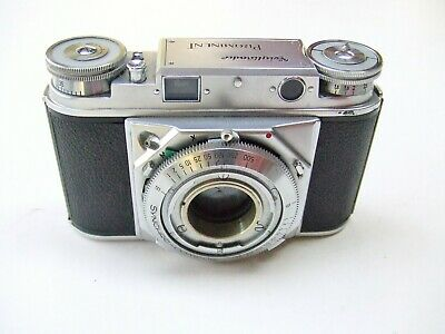 VOIGTLANDER PROMINENT 35mm RANGEFINDER BODY TYPE 2 NO STRAP LUGS