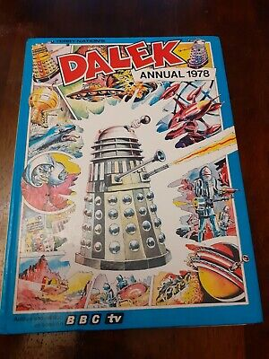 Beautiful Condition Dalek Annual 1978 Rare. Terry Nations. Unclipped..